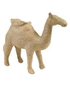 Papier-maché figuurtje 12 cm kameel