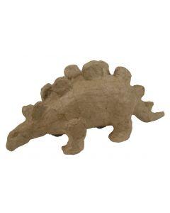 Papier-maché figuurtje 12 cm dinosaurus