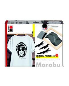 Marabu zeefdrukset op textiel