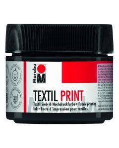 Marabu Textil Print 100 ml zwart