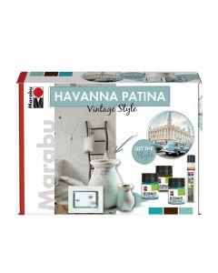 Marabu Havanna Patina set - Vintage Style
