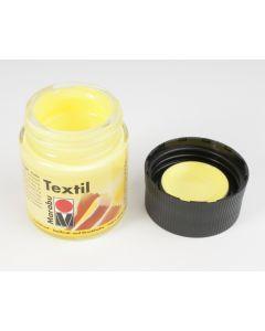 Marabu textielverf 50 ml citroengeel