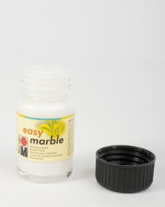 Marabu Easy Marble 15 ml wit