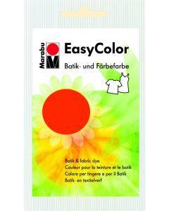 Marabu Easycolor batikverf roodoranje