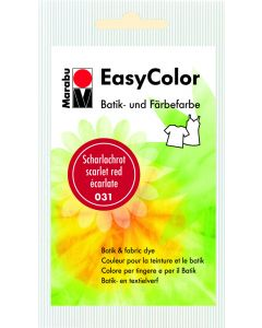 Marabu Easycolor batikverf scharlakenrood
