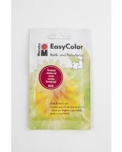 Marabu Easycolor batikverf karmijnrood