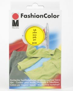Marabu Fashioncolor wasmachine geel