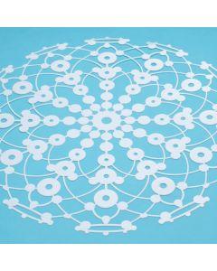 Marabu Silhouette sjabloon 30 x 30 cm Lace Rosette