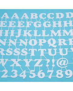 Marabu Silhouette sjabloon 30 x 30 cm ABC & Numbers