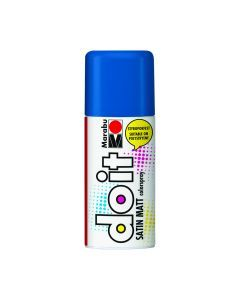 Marabu Do It verfkleurspray mat 150 ml middenblauw