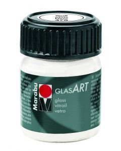 Marabu Glas Art 15 ml wit