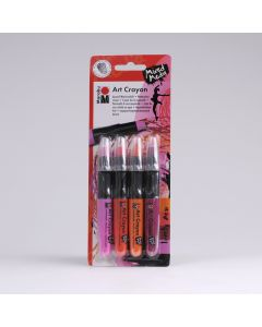 Marabu Art Crayon 4 stuks Lovely Red