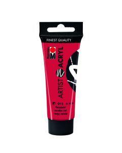 Marabu Artist acrylverf 22 ml karmijn rood
