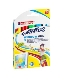 Funtastics Window Fun 5 stuks
