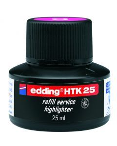 Edding highlighter navulinkt 25 ml fluoroze