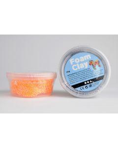Foam Clay 35 g neon oranje