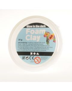 Foam Clay 35 g Glow in the Dark