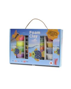 Foam Clay cadeauset 10 x 35 g, 18 x 14 g + tools