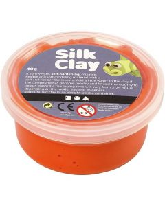 Silk Clay 40 g oranje