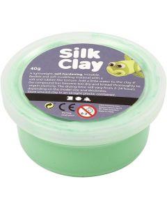 Silk Clay 40 g lichtgroen