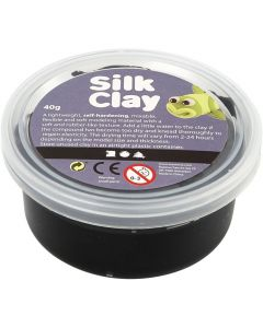 Silk Clay 40 g zwart