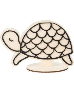 Figuur om te decoreren Schildpad