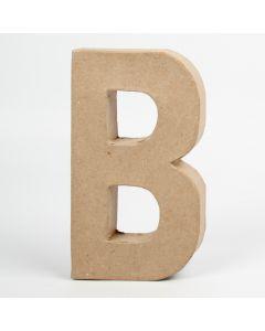 Letter karton, hoogte 20,5 cm, dikte 2,5 cm B