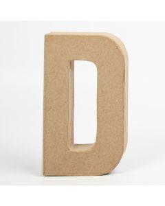 Letter karton, hoogte 20,5 cm, dikte 2,5 cm D