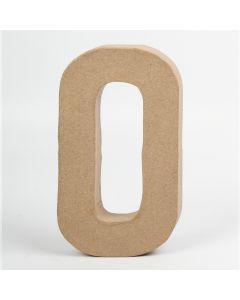 Letter karton, hoogte 20,5 cm, dikte 2,5 cm O