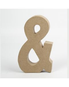 Symbool karton, hoogte 20,5 cm, dikte 2,5 cm &