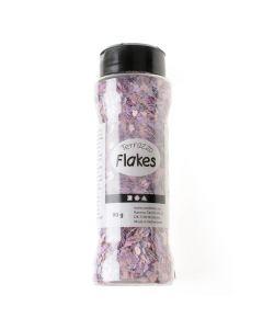 Terrazzo vlokken 90 g paars
