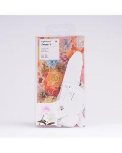 Sjablonenset papieren bloemen 15 stuks Rozen en Tulpen
