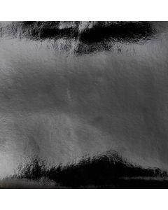Kunstleder glanzend 45 x 100 cm zwart