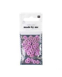 Katsuki kralen 6 x 1 mm 60 stuks lila
