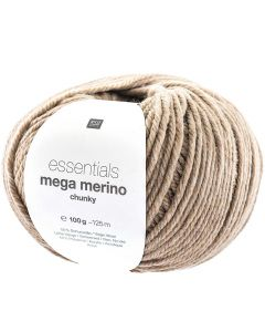 Mega Merino 100 g natuur