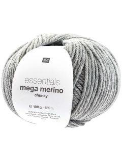 Mega Merino 100 g lichtgrijs