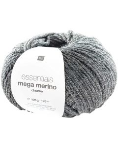 Mega Merino 100 g antraciet