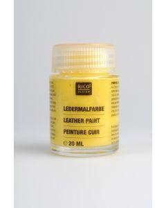 Lederverf 20 ml geel