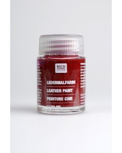 Lederverf 20 ml granaatrood
