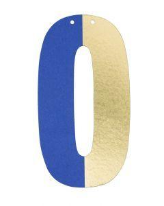 Letter voor slinger 9 x 15 cm O