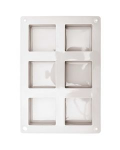 Gietmal voor zeep vierkant