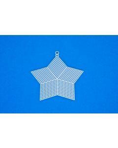 Borduurstramien plastic ster 13 cm