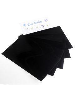 Crea Shrink A4, 5 stuks zwart
