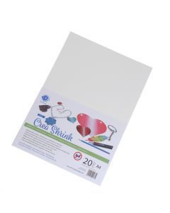 Crea Shrink A4, 20 stuks wit