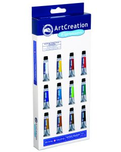 Art Creation aquarel set 12 x 12 ml