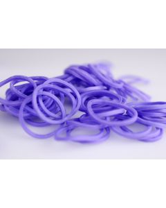 Rainbow Loom Bands 600 stuks 24 C-clips opaak lila