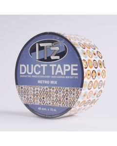 Duct Tape 48mm x 10 m Retro Mix
