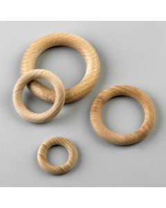 Houten ring 85 mm