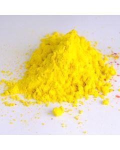 Holi kleurpoeder 70 g geel