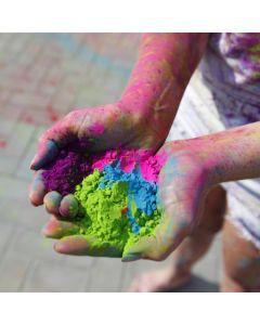 Holi kleurpoeder 10 x 70 g assortiment